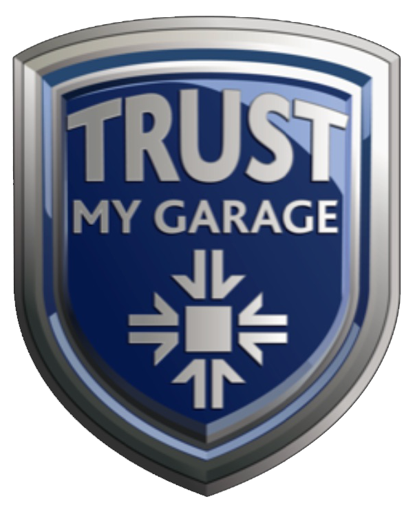 Trust My Garage Logo For Mount Garage Melling.